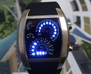 White Leather Fashion Lady Girl Quartz Wrist Watch Cool