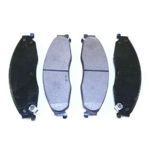 Prime Choice Auto Parts SMK921 Premium New Semi Metallic Front Brake