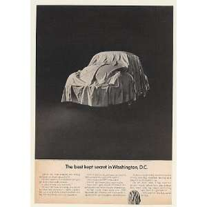 Bug Best Kept Secret in Washington DC Print Ad (51266) Home & Kitchen