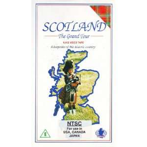Scotland The Grand Tour (VHS Video) Everything Else