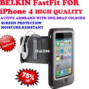 Belkin Fast Fit Sports Armband case for iPhone 4 High Quality Brand