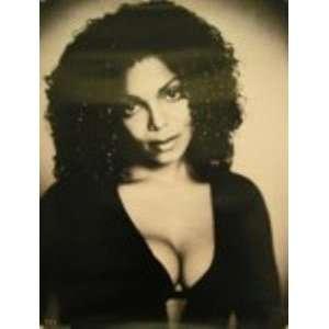 Janet Jackson   Black & White   Poster 18x24 Everything