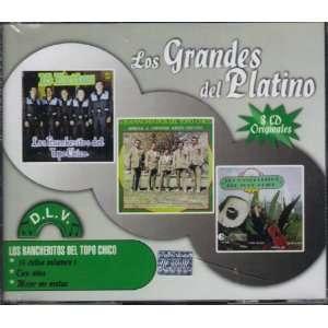 Los Rancheritos De Topo Chico Vol.6 Los Grandes Del Platino DLV 2010