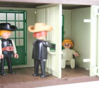 PLAYMOBIL WILD WEST SHERIFFS OFFICE & MEXICAN BANDIT