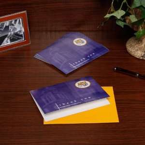 NCAA LSU Tigers 10 Pack Mascot Thank You Note Cards