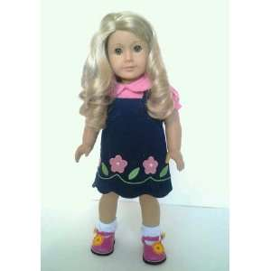 Flower Dress with Flower Shoes for American Girl Dolls Toys & Games