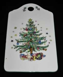Christmas Tree CeramCard, Ceramic Greeting Card