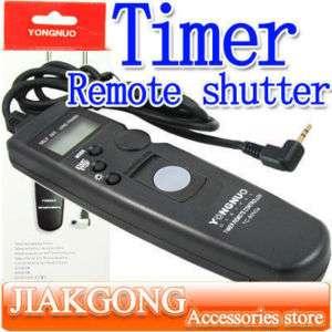 Timer Remote shutter for Canon 60D 550D G12 G11 T2i T1i