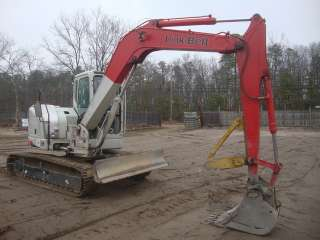 Link Belt 80 Spin Ace Excavator 19,200Lb Machine, Thumb, 24in Bucket