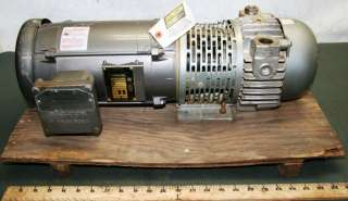 AC Explosion Proof Motor Gast Rotary Vane Air Vacuum Pump Compressor