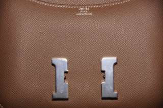 Hermes CONSTANCE ETOUPE Leather Bag 18 cm Brand New With Receipt