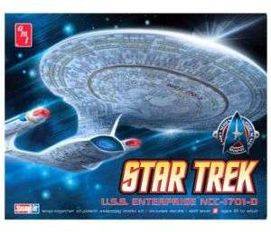 AMT STAR TREK NEXT GENERATION ENTERPRISE 1701D SNAP KIT