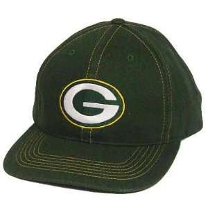 NFL GREEN BAY PACKERS FLAT BILL HAT CAP SNAPBACK