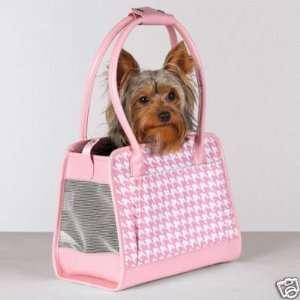 Zack & Zoey Fashion Hound Dog Pet Carrier LARGE PINK