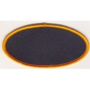 4x2 Black Background Orange Border For Biker Vest!!: Everything Else