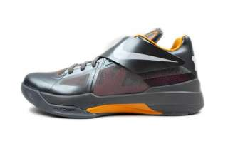 Nike Mens Zoom KD IV Cool Grey Del Sol 473679 007