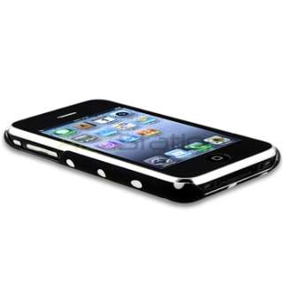 Dot Hard Plastic Case Cover for Apple iPhone 3G 3GS Accessory