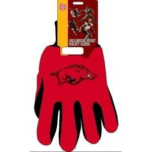 Arkansas Razorbacks UA NCAA Two Tone Gloves Sports