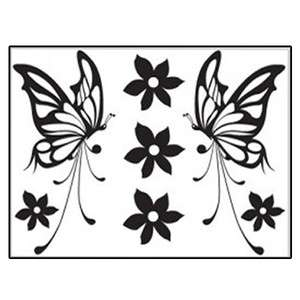 BUTTERFLY Mural Art Wall Sticker Removable Vinyl Decals