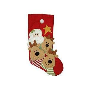 Holiday Traditions Moose Christmas Stocking Kitchen