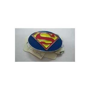 Official Licensed Dc Comic Superman Logo in Blue,yellow and Red Oval