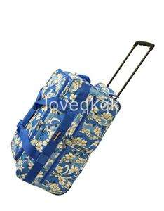 20 New Sky Blue Rolling Duffel Bag Luggage.3 Colors~