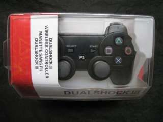 Bluetooth Controller 6 Axis DualShock 3 fr PS3 Ship Original Box