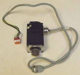 Emco PCTurn 55 CNC Lathe Stepper Motor and Cable Assembly
