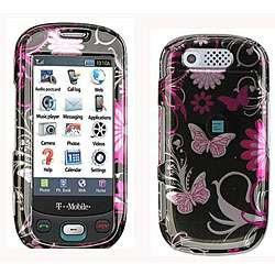 Samsung Highlight T749 Pink Butterfly Design Case
