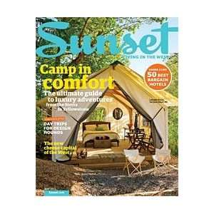 Sunset: Living in the West Magazine May 2011   Camp in Comfort: Katie