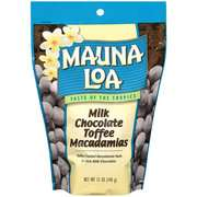 Mauna Loa: Milk Chocolate Toffee Macadamias, 12 Oz
