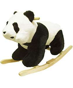 Plush Childrens Rocking Panda Bear