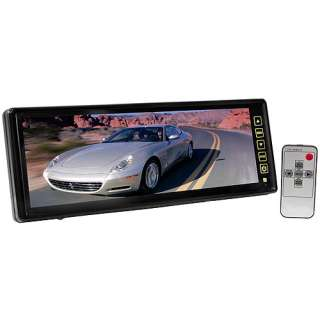 Rear view mirror car camera