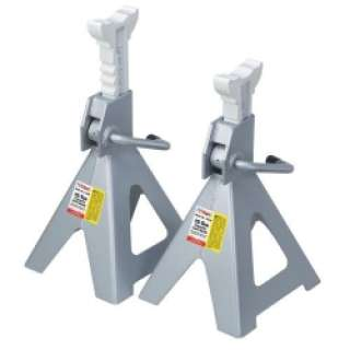 OTC 1784C 12 Ton Ratchet Style Jack Stands   Pair Tools