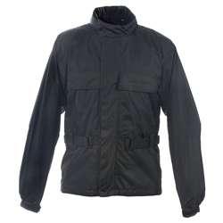 Mossi Mens RX 2 Black Motorcycle Rain Jacket