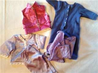 American Girl Doll Clothes & Flute & 3 Bitty Baby Items EUC