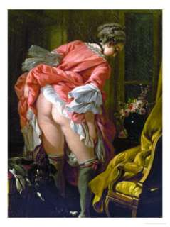 The Raised Skirt, 1742 Giclee Print by Francois Boucher at AllPosters