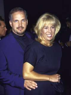Country Music Artist Garth Brooks and Wife Sandy at Vision Awards