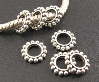Snowflake Spacer Beads Fit European Charm Bracelet ☆f759