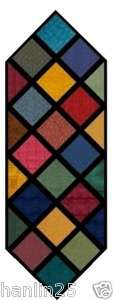 Charm Squares TABLE RUNNER QUILT KIT   Cut