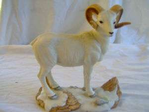 Porcelain Dall Sheep UNC Carolina Ram *