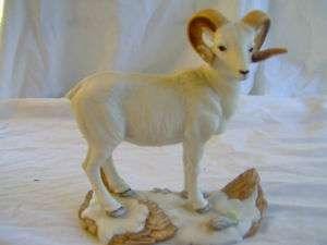 Porcelain Dall Sheep UNC Carolina Ram *