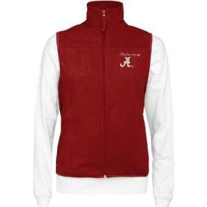 Alabama Crimson Tide Womens Wind Vest/Long Sleeve