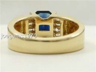 50ct SAPPHIRE DIAMOND 14k solid Gold Ring 1/3wide Brand NEW