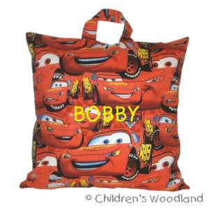 DISNEY MOVIE CARS TRAVEL PILLOW PERSONALIZED KIDS