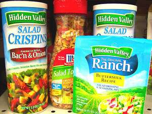 Hidden Valley Seasoning Dips Salad Toppings