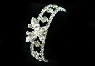 Bridal Wedding Butterfly Crystal Bracelet B012