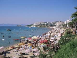 Ladies Beach, Kusadasi, Anatolia, Turkey, asia Photographic Print