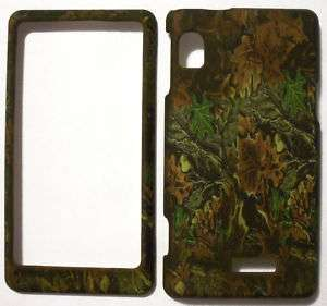 Camo Brown Motorola Droid 2 A955 Faceplate Hard Protector Cover Case