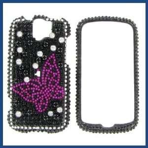 HTC MyTouch Slide Full Diamond Black with Hot Pink